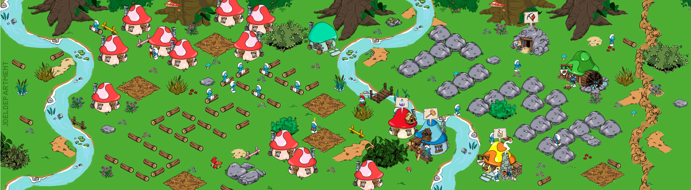 smurfvirus full - How To Get More Wood And Stone In Smurfs Village